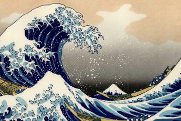 La gran ola de Kanagawa. Hokusai