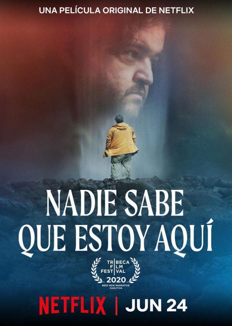 póster película Nadie sabe que estoy aquí