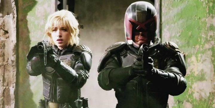 Dredd. Producida por DNA Films IM Global Reliance Entertainment