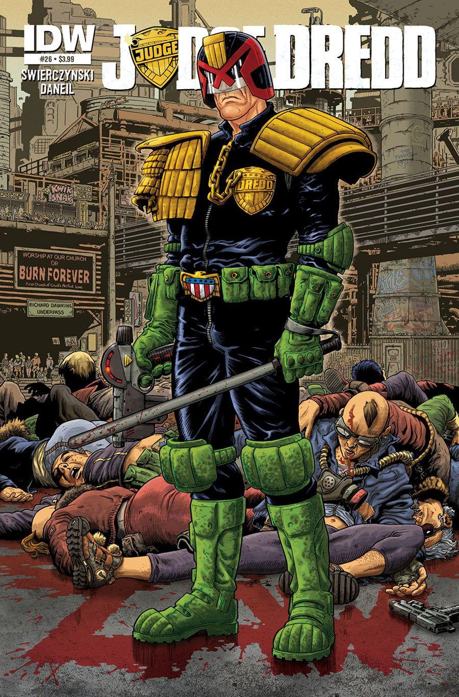 Judge Dredd. Publicado por 2000 AD
