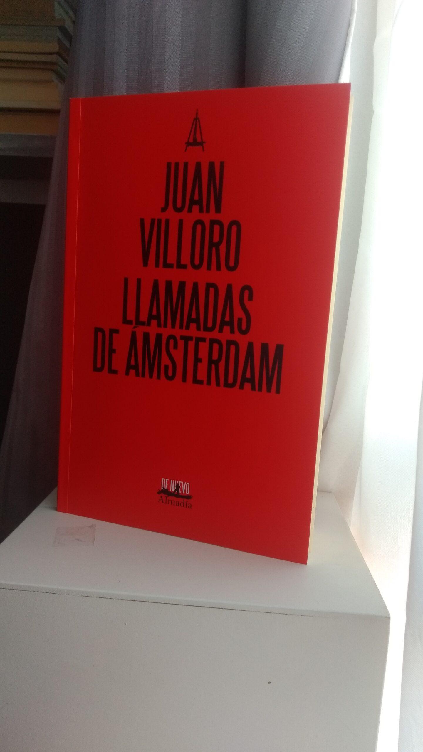 Libro Llamadas de Ámsterdam