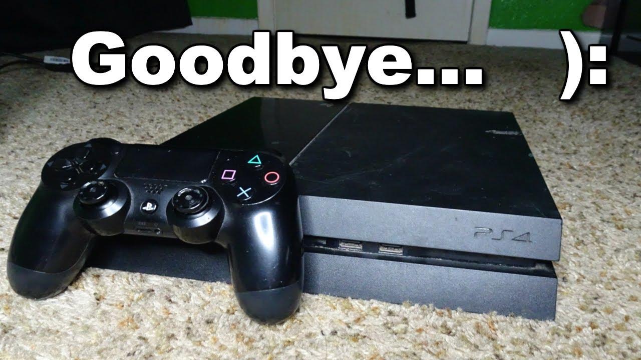 goodbye ps4