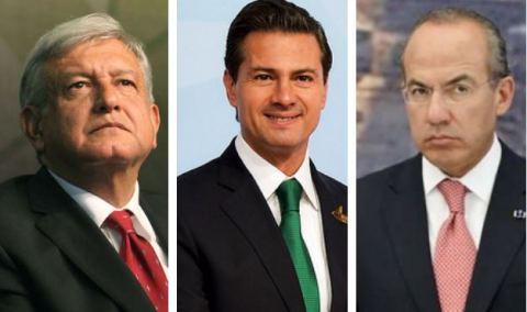 presidentes México
